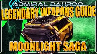 "Borderlands The Pre-Sequel: The ""Moonlight Saga"" - Legendary Weapons Guide"