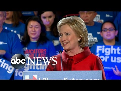 Hillary Clinton's FULL Speech | Wins Nevada Caucuses