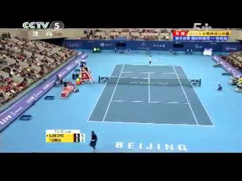 Novak DJOKOVIC vs  Jo Wilfried TSONGA Final China Open 2012