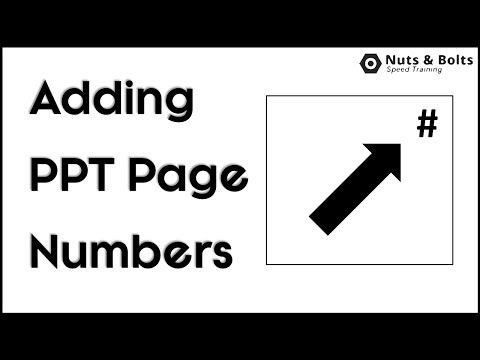 PowerPoint Page Numbers: How to Add Page Numbers to your PowerPoint Presentation