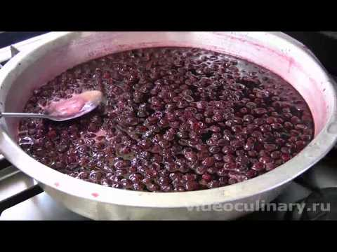 Вишневое варенье  - Рецепт Бабушки Эммы