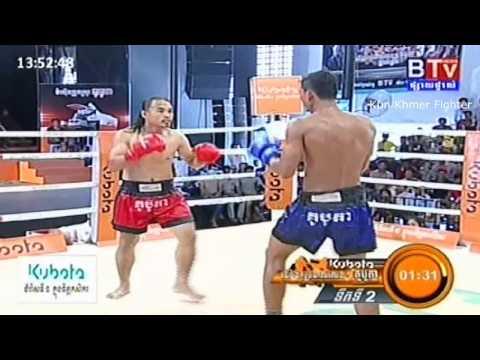 Khmer Boxing, Seng Sokchan Vs Hak Chanthy, BTV Boxing, 20 September 2015