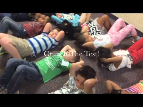 "School ""Shakes It Off"" for EOG testing"