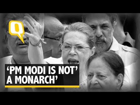 The Quint: Sonia Gandhi Dares BJP To Investigate Allegations Against  Vadra