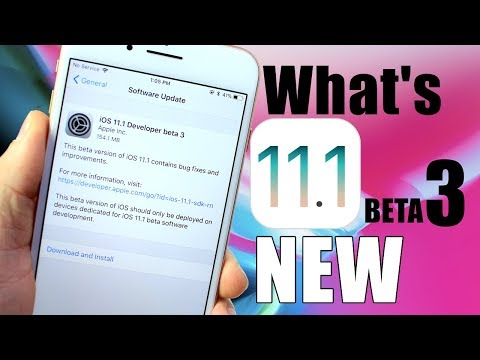 iOS 11.1 BETA 3 | Getting Closer To The Final Version