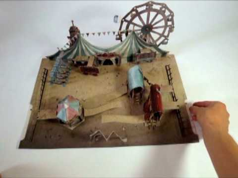 Circus Zingaro - A Pop-Up Book
