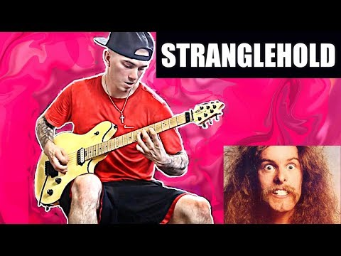 TED NUGENT - STRANGLEHOLD GUITAR COVER (WITH ALL SOLOS) - STAY METAL RAY