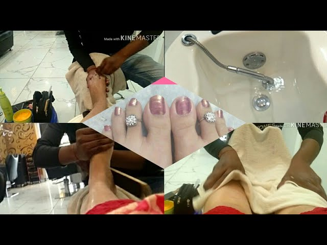 SPA Pedicure At Salon || Routine Pedicure