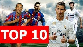 Top 10 trận El Clasico đáng nhớ nhất lịch sử