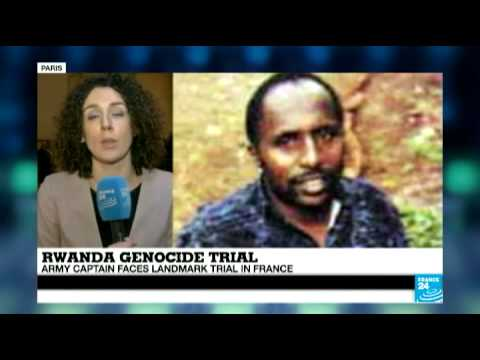 Rwandan genocide: Army captain faces landmark trial in France