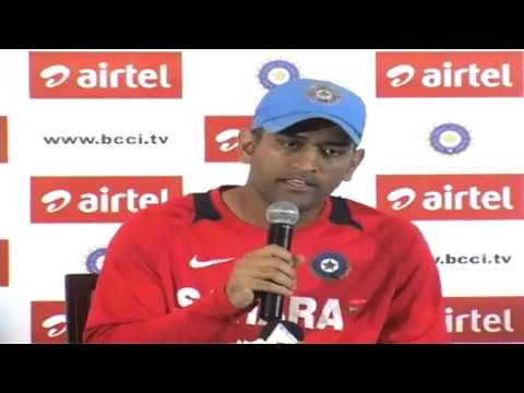 India vs Pakistan 2012-13: MS Dhoni addresses media ahead of first ODI