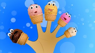 Ice Cream Finger Family Rhyme