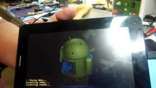 HARD RESET TABLET IMPORTADO