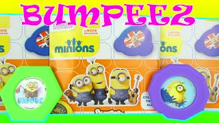 Minions Blind Bags Bumpeez Minion Disc Game Toy Review Opening
