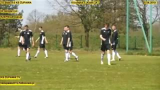 """TS Stale - KS Żupawa (2-0 Rzepiela Jakub) 20.04.2019 Klasa """"A"""""""