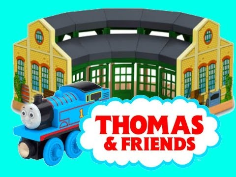 Thomas Amp Friends Wooden Railway Tidmouth Sheds With Thomas