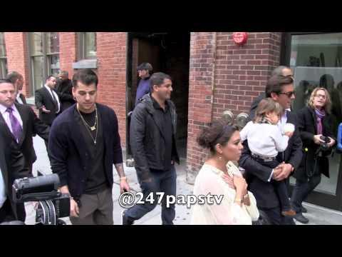 Rob & Kourtney Kardashian with Scott Disick & Mason in NYC (Behind the Scene Pt1)