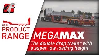 FAYMONVILLE MegaMAX - The double drop trailer with a super low loading height