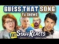 GUESS THAT SONG CHALLENGE: TV SHOWS #2 (ft. FBE STAFF)