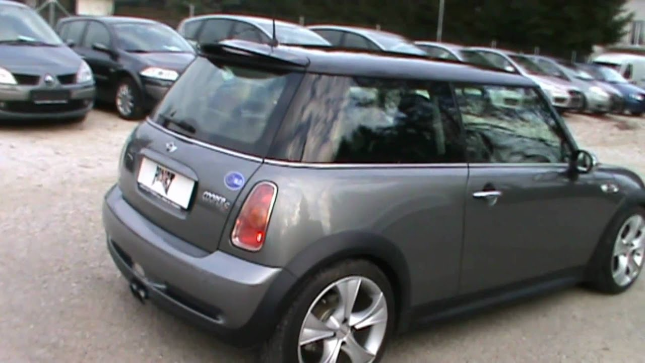 2003 mini cooper s john works full review start up engine and in depth tour youtube. Black Bedroom Furniture Sets. Home Design Ideas