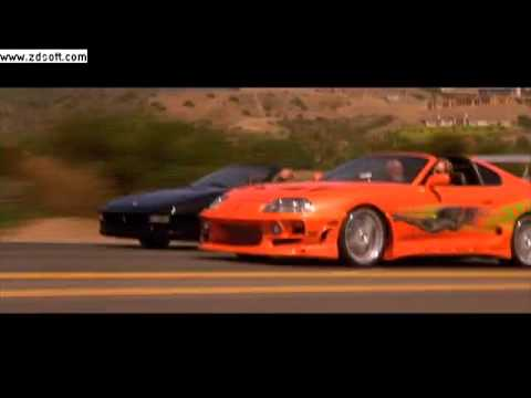 The Fast and the Furious Supra vs Ferrari - YouTube