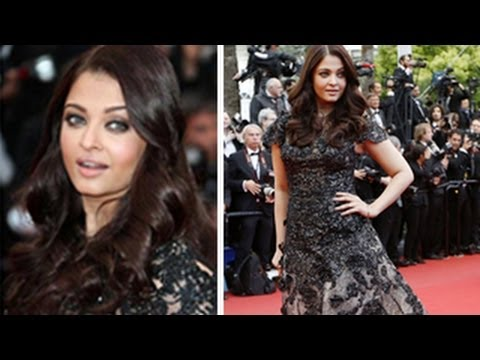 Aishwarya Rai Bachchan dazzles at Cannes 2013 red carpet