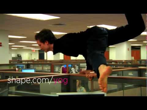 Office Yoga, Ninja Style with Mike Taylor