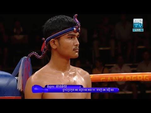 Meas Socheat vs Chharnchhai(laos), Khmer Boxing MY TV 18 May 2018, Kun Khmer vs Muay Thai