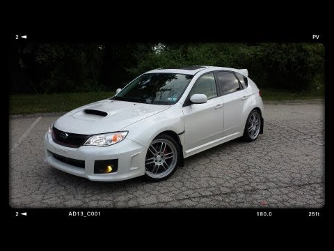 2013 Subaru Wrx Hatchback Limited Edition With Mods Youtube