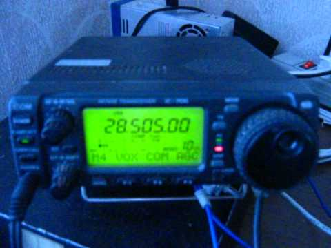 26.05.2012 ES prop qso on 10m sq5obu mobile with ur3ctb.AVI
