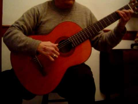 Dionisio Aguado Study No. 15 Played on Yamaha Guitar