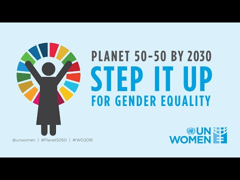 Planet 50-50 by 2030: Step it up for gender equality!