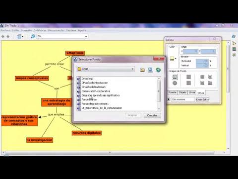 Cómo crear mapas conceptuales con CMapTools - Parte1
