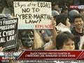 SONA: Black Tuesday protest kontra cybercrime law, isinagawa sa Edsa Shrine