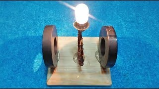 How to Build Free Energy Magnet Light Bulb New TECHNOLOGY Exhibition 100% FREE ELECTRICITY