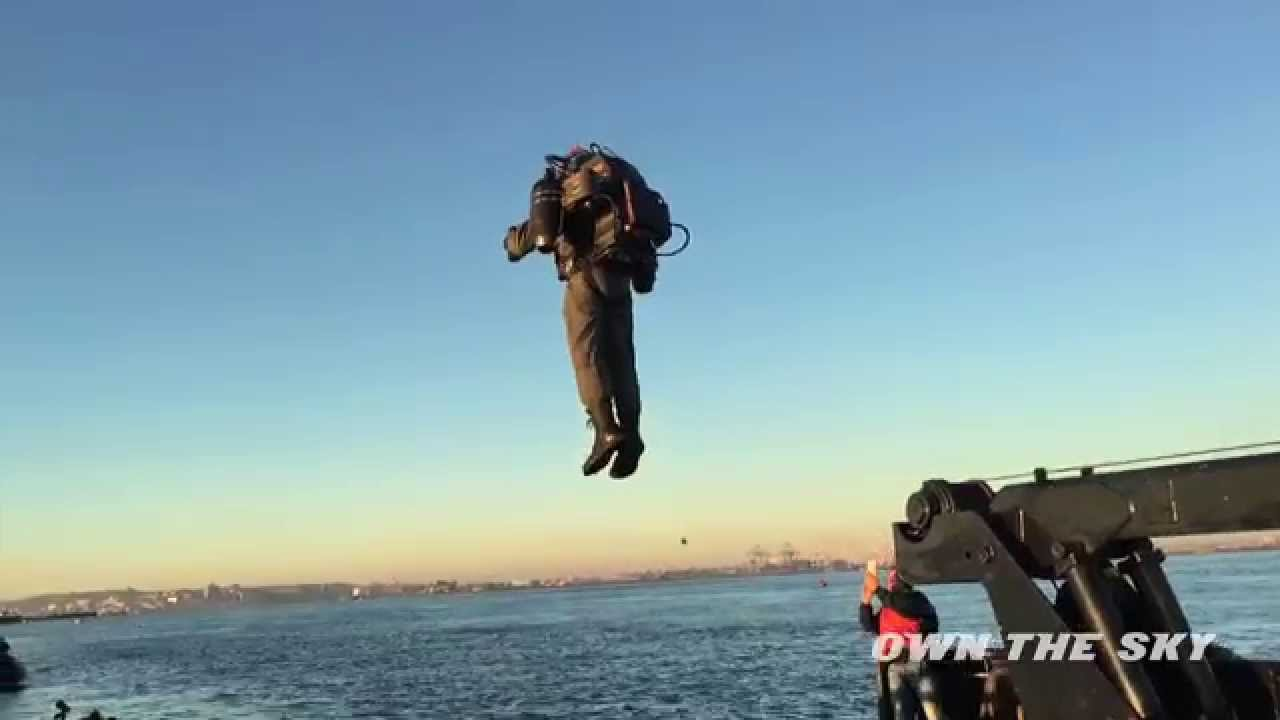 [World's only JetPack flies in New York] Video
