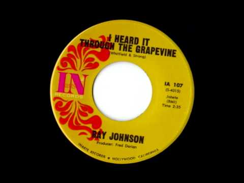 Ray Johnson - I Heard It Through The Grapevine (Smokey Robinson & The Miracl