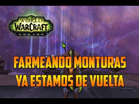 World of Warcraft | FARMEANDO MONTURAS - ULDUAR - CABEZA MIMIRON - ESTAMOS DE VUELTA