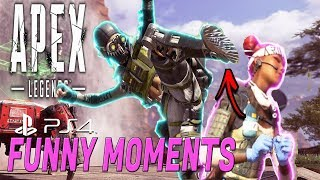 Apex Legends - Funny Moments & Best Highlights#2(PS4) A/M GAME ZONE