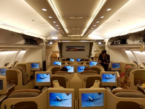 Etihad Airways Airbus A330 business class Brussels to Maldives via Abu Dhabi
