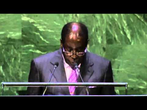Robert Mugabe's Speech At The 69th UN Summit 2014