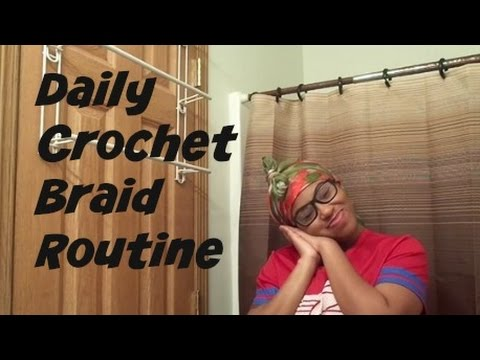 Crochet Braids: Senegalese Twist Day/Night Routine for Hair Growth