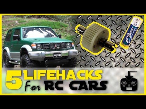 5 RC Car Lifehacks! (Lock Diff; DIY Drift Tires; Battery Test; Etc.)