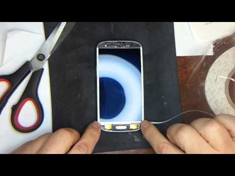 Samsung Galaxy S3 Glass Repair Part 2