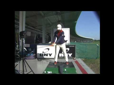 Hee Young Park Golf Swing - Driver  (Front) 박희영 프로 스윙
