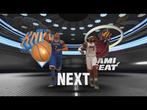 NBA 2K14 PS4 Miami Heat vs. New York Knicks