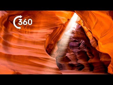 Beautiful Desert Canyons 360° - Planet Earth II