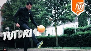VOETBAL TRICKS met TOUZANI  - LEGENDS