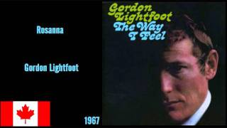 Watch Gordon Lightfoot Rosanna video