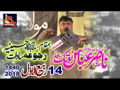 Zakir Haji Nasir Abbas Notak | 14 Rabi Ul Awal 2018 | Rajoa Sadat Mandi bahauddin